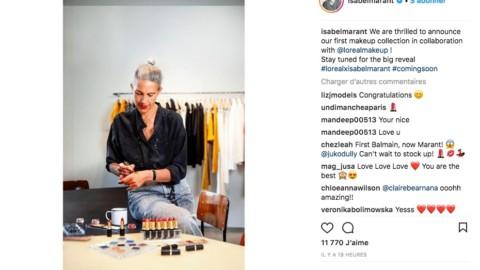 Isabel Marant lance une ligne de make-up pour la rentrée